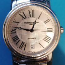 Frederique Constant Classics Automatic pre-owned 31mm Silver Date Steel