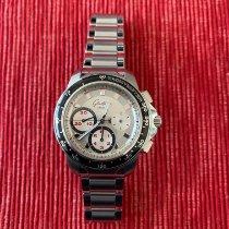 Glashütte Original Sport Evolution Chronograph Steel 42mm Silver No numerals