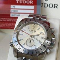 Tudor Sport Aeronaut Steel 41mm Silver No numerals