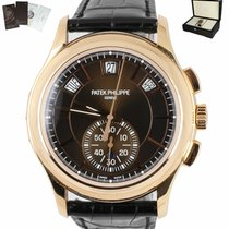 Patek Philippe Annual Calendar Chronograph Rose gold 42mm Brown United States of America, New York, Smithtown