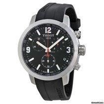 Tissot PRC 200 neu Quarz Chronograph Uhr mit Original-Box und Original-Papieren T0554171705700