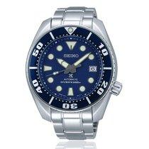 Seiko Prospex Stahl 45mm Blau Keine Ziffern
