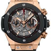 Hublot Big Bang Unico 411.OM.1180.RX Neu Roségold 45mm Automatik