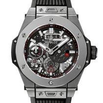 Hublot Big Bang Meca-10 Titanium 45mm Black No numerals