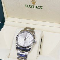 Rolex Oyster Perpetual Date Steel 34mm Black Canada, St-Laurent