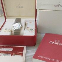 Omega 123.10.35.60.02.001 Steel 2015 Constellation Quartz 35mm new