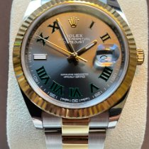 Rolex Datejust II Gold/Steel 41mm Grey No numerals United States of America, Michigan, Troy