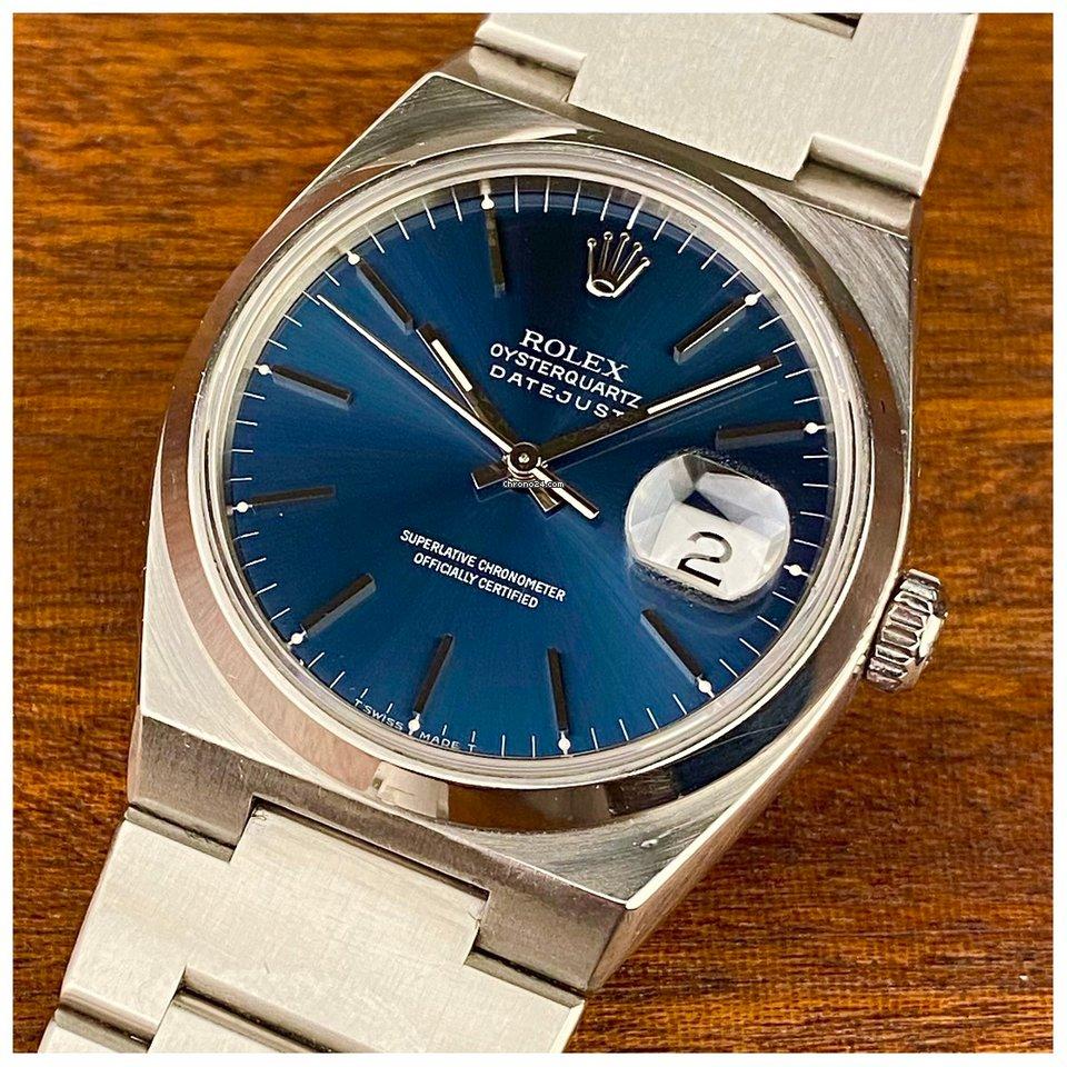 Rolex Datejust Oysterquartz 17000 1998 brugt
