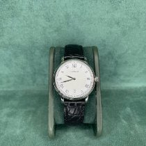 Montblanc Tradition Steel 36mm White Roman numerals