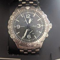 Sinn 756 / 757 Steel 43mm Grey Arabic numerals