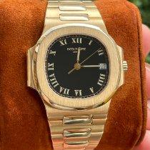 Patek Philippe Nautilus Yellow gold 37mm Black No numerals
