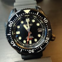 Seiko Prospex pre-owned 41mmmm Black Date Rubber