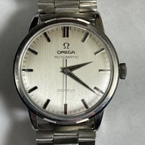 Omega Genève Steel 35mm Silver United States of America, California, Woodland Hills