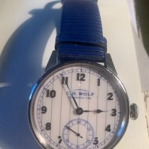 C.H. Wolf 45mm Manual winding 450036 pre-owned