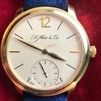 H.Moser & Cie. Oro rosa 38.5mm Cuerda manual 321.503-005 usados