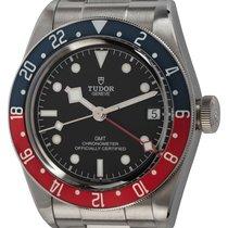 Tudor Black Bay GMT pre-owned 42mm Black Date GMT Steel