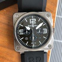 Bell & Ross подержанные Автоподзавод 46mm Черный