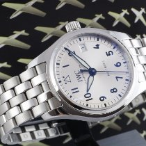 IWC Pilot's Watch Automatic 36 pre-owned 36mm Silver Date Steel