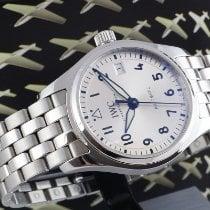 IWC Pilot's Watch Automatic 36 Steel 36mm Silver Arabic numerals