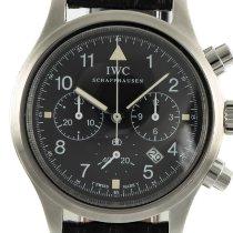 IWC Pilot Chronograph Aço 36mm Preto
