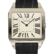 Cartier 2651 White gold 2008 Santos Dumont 32mm pre-owned