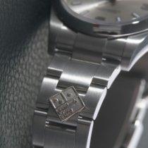 Rolex Air King Stahl 34mm Silber Arabisch