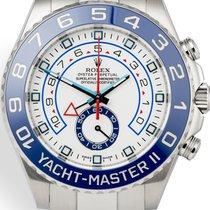 Rolex Yacht-Master II Steel 44mm White No numerals Australia