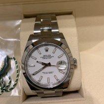 Rolex Datejust nuovo 2021 Automatico Orologio con scatola e documenti originali 126300-0015