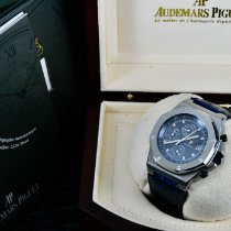 Audemars Piguet Steel Automatic Blue 42mm new Royal Oak Offshore Chronograph