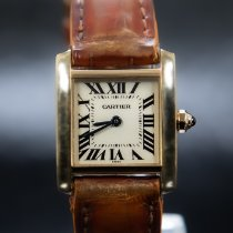 Cartier Tank Française Yellow gold 20mm Roman numerals