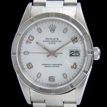 Rolex 15210 Acciaio 2004 Oyster Perpetual Date 34mm usato Italia, Roma
