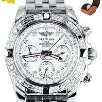 Breitling Chronomat 41 Сталь 41mm Перламутровый