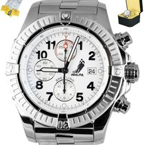 Breitling Steel 48mm Automatic A13370 pre-owned United States of America, New York, Smithtown
