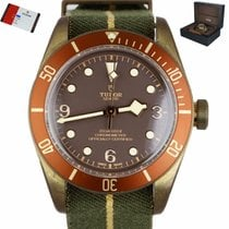 Tudor Bronze Automatic Brown 43mm pre-owned Black Bay Bronze