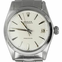 Rolex Oyster Precision Steel 31mm White