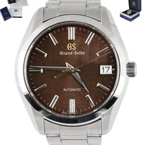 Seiko Grand Seiko Steel 42mm Brown United States of America, New York, Smithtown