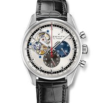 Zenith El Primero Chronomaster Steel 42mm Silver No numerals United States of America, New York, New York City