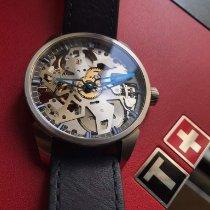 Tissot T-Complication Steel 43mm Transparent No numerals