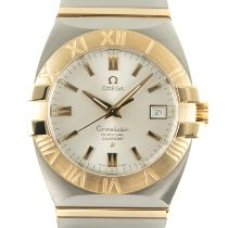 Omega Constellation Double Eagle Gold/Steel 38mm Silver