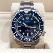 Seiko Marinemaster Steel Blue No numerals United States of America, Texas, Dallas
