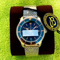 Breitling Superocean Heritage II 42 Золото/Cталь 42mm Синий Без цифр