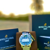 Breitling Superocean Heritage II 42 Gold/Steel 42mm Blue No numerals United States of America, Colorado, lakewood