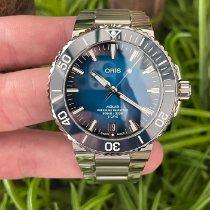 Oris Aquis Date Steel 43.5mm Blue No numerals United States of America, California, Los Angeles