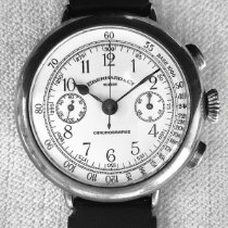 Eberhard & Co. Silver Manual winding White 38mm pre-owned