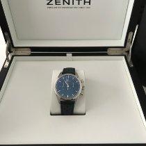 Zenith El Primero Original 1969 Acier 38mm Bleu France, colombes