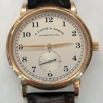 A. Lange & Söhne Rose gold 36mm Manual winding 206.032 pre-owned United States of America, New York, New York