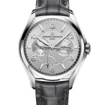 Vacheron Constantin Fiftysix Steel 40mm Silver Arabic numerals United States of America, New York, New York City