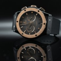 Hublot Classic Fusion Chronograph pre-owned Black Date Rubber