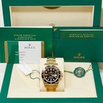 Rolex Submariner Date 116618LN Очень хорошее Желтое золото 40mm Автоподзавод