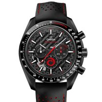 Omega Speedmaster Professional Moonwatch Ceramic 44.25mm Black No numerals United States of America, New York, New York